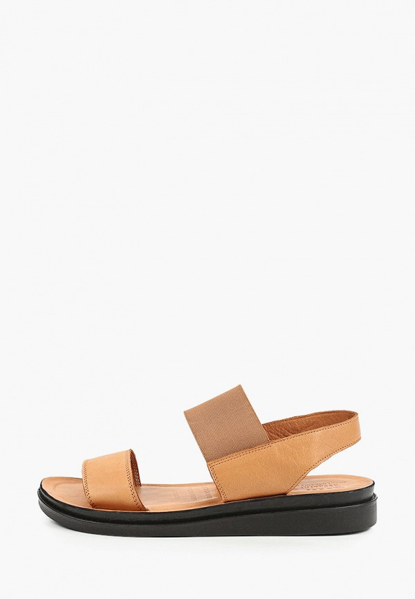 женские сандалии ascalini, коричневые