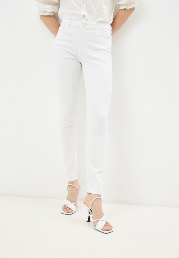 женские джинсы скинни whitney, белые