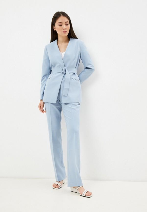 женский костюм vittoria vicci, голубой