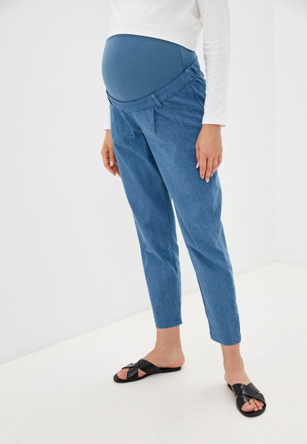 женские джинсы-мом bemymom, голубые