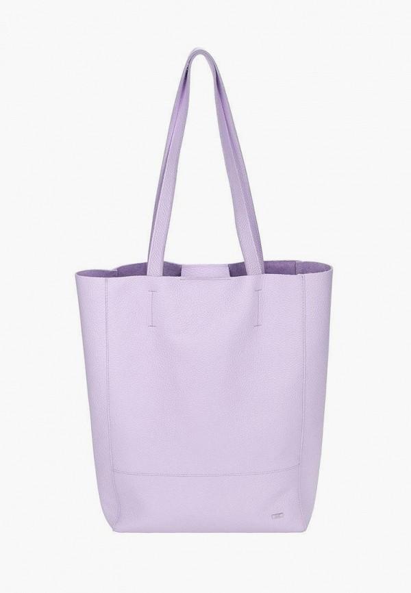 женская сумка-шоперы esse, фиолетовая