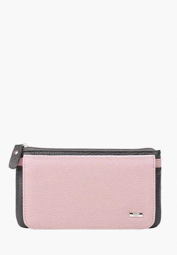 женский кошелёк esse, розовый