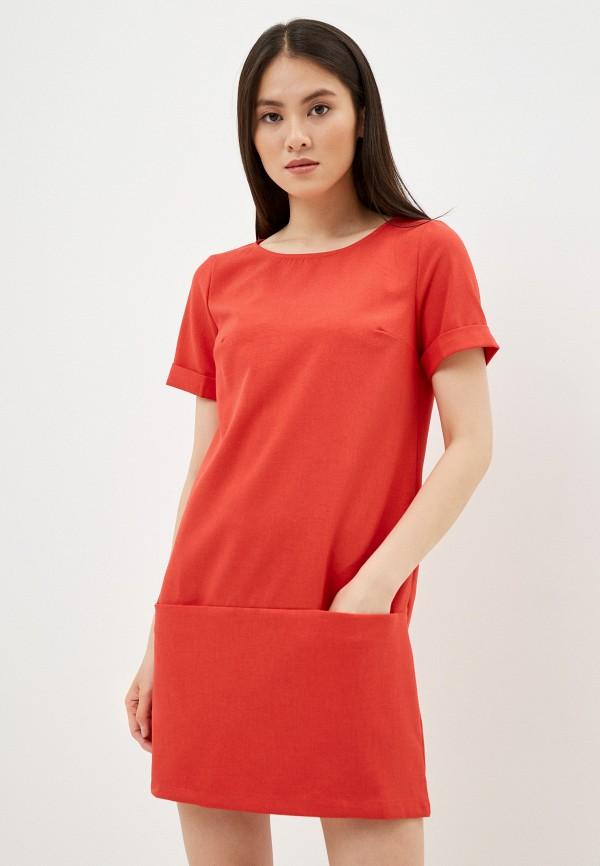 женское повседневные платье vittoria vicci, красное