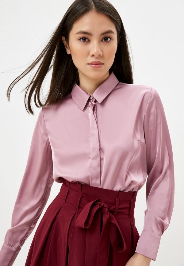 женская блузка с длинным рукавом vittoria vicci, розовая