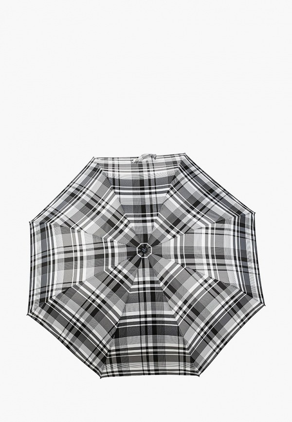 женский складные зонт russian look, серый