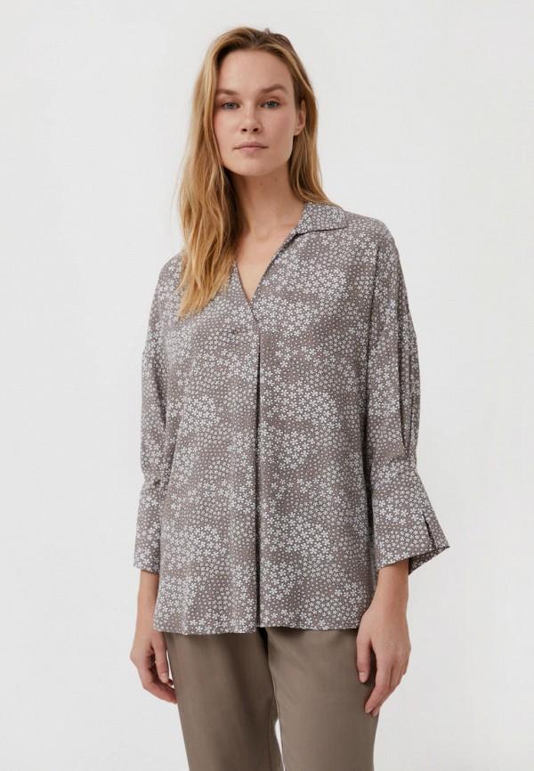 Блуза Finn Flare коричневого цвета