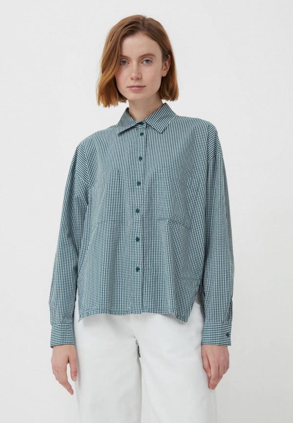 Рубашка Finn Flare бирюзового цвета