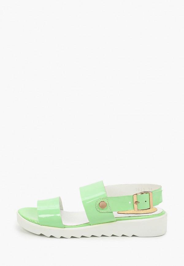 женские сандалии enzo logana, зеленые