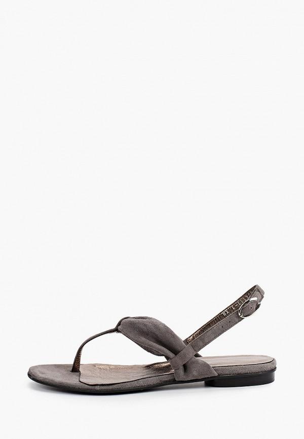 женские сандалии enzo logana, серые
