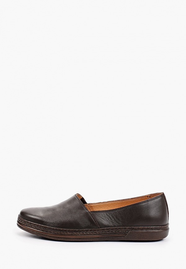 женские туфли с закрытым носом romer, коричневые