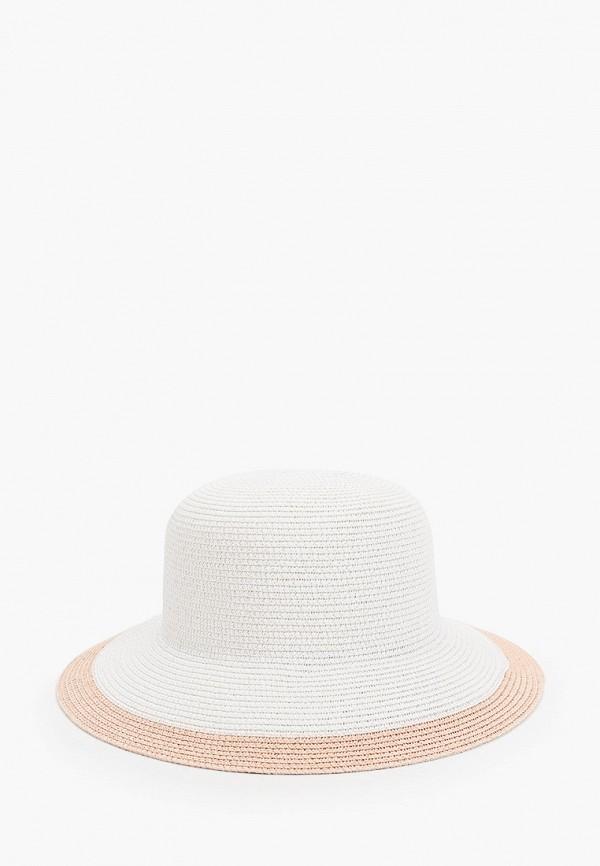женская шляпа vntg vintage+, белая