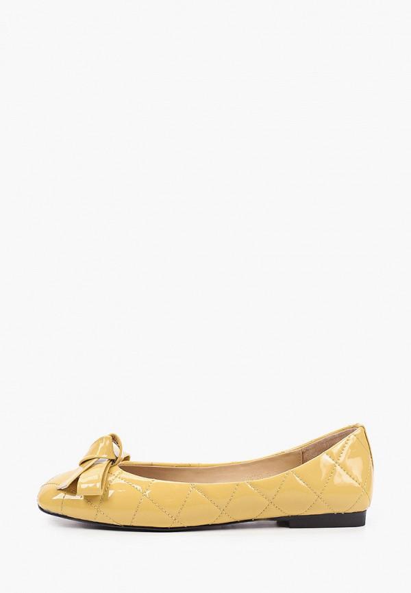 женские балетки tuffoni, желтые