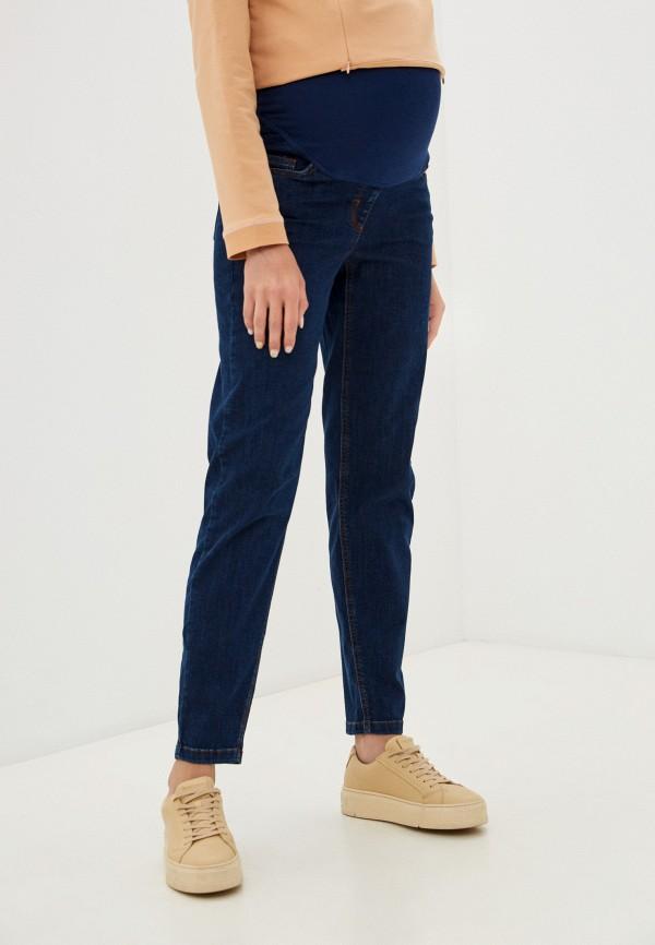 женские прямые джинсы budumamoy, синие