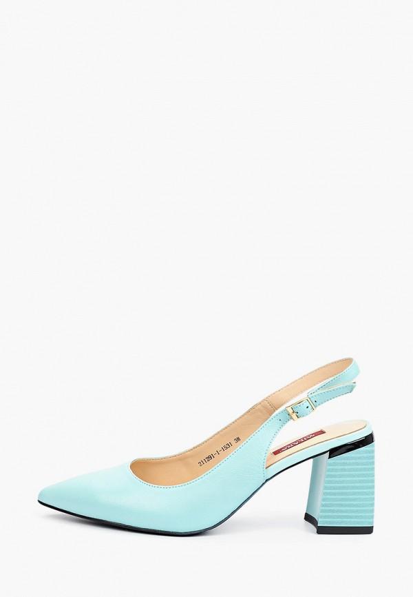 женские туфли milana, бирюзовые