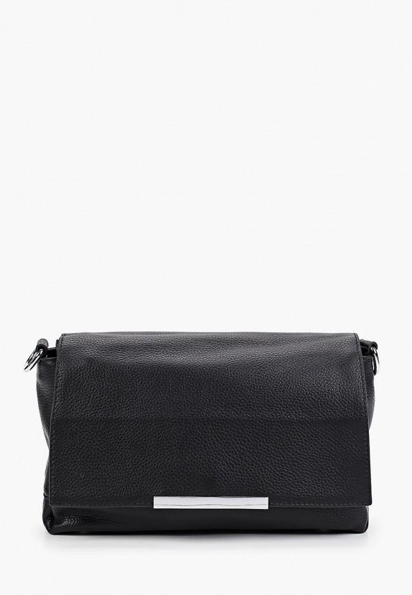 женская сумка с ручками mironpan, черная