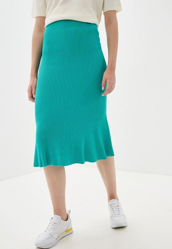 женская узкие юбка marytes, бирюзовая