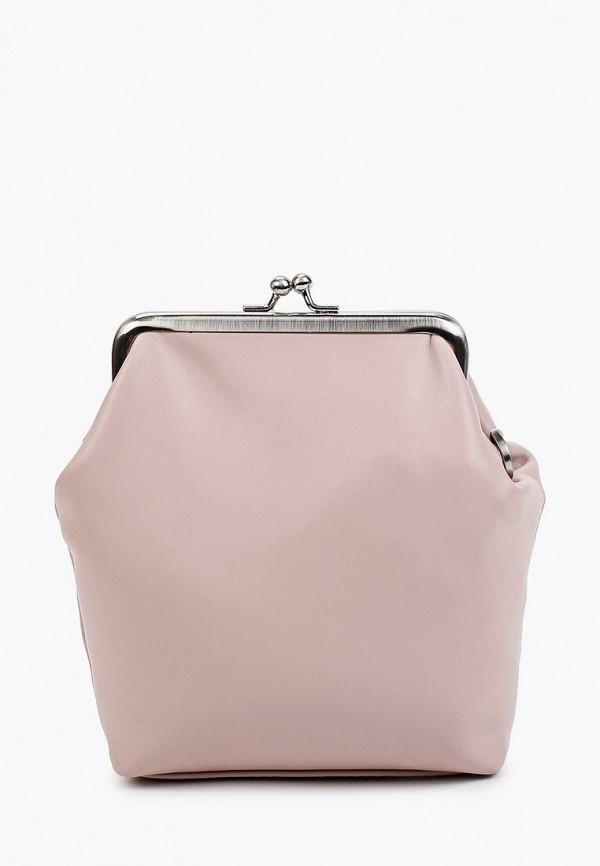 женская сумка через плечо mironpan, розовая