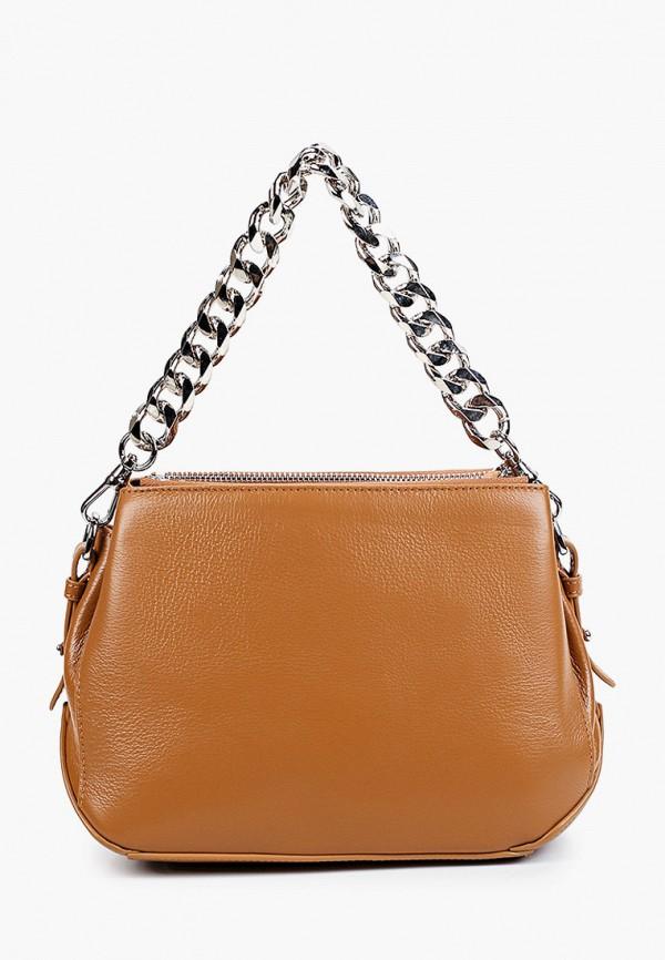 женская сумка с ручками mironpan, коричневая