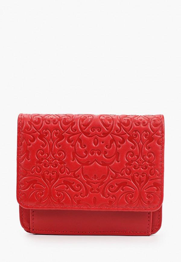 женский кошелёк d.morelli, красный