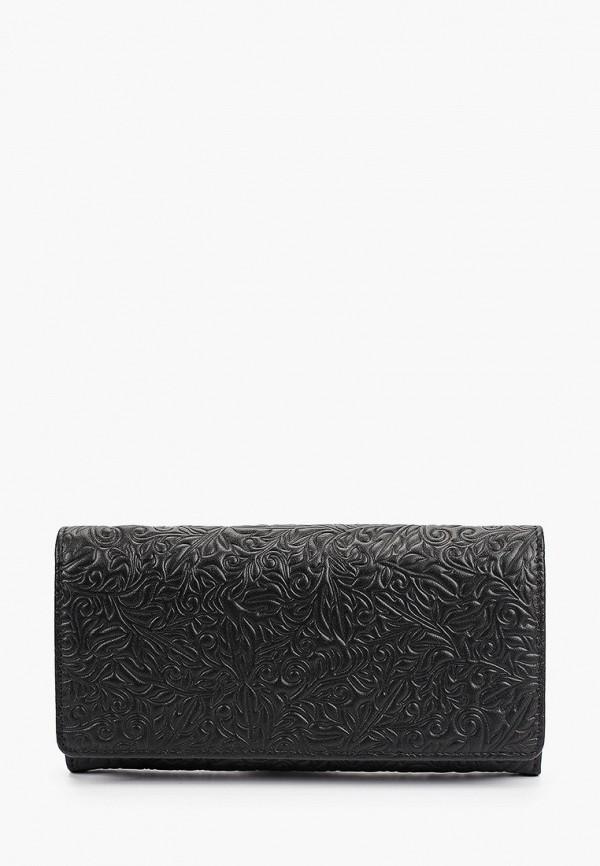 женский кошелёк d.morelli, черный