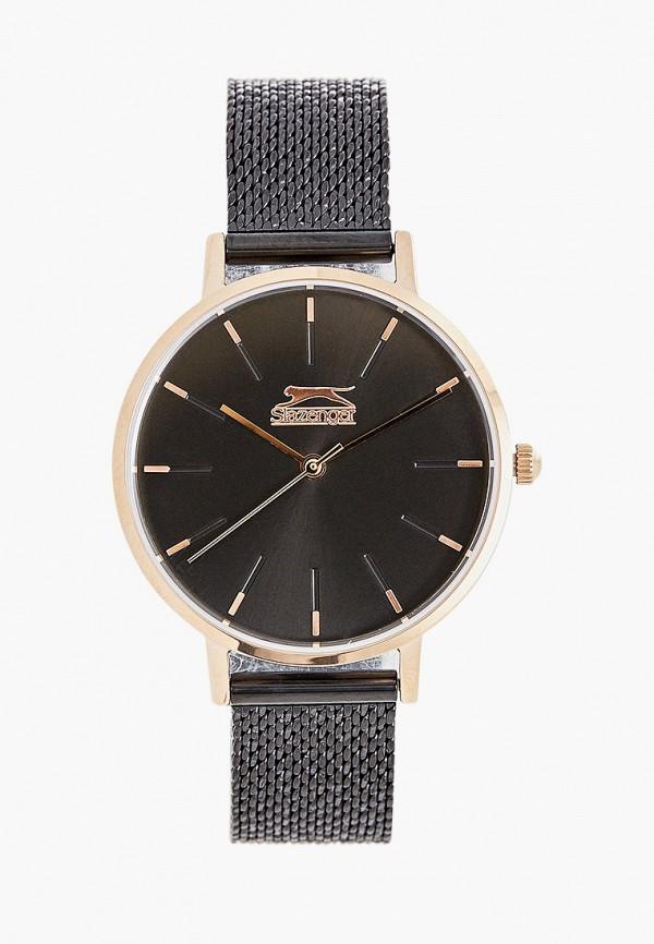 женские часы slazenger, черные