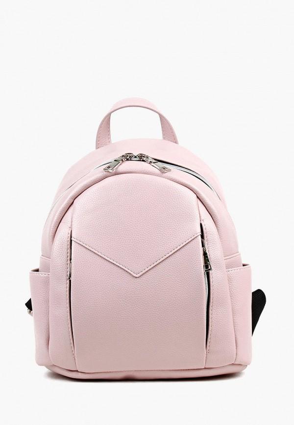 женский рюкзак медведково, розовый