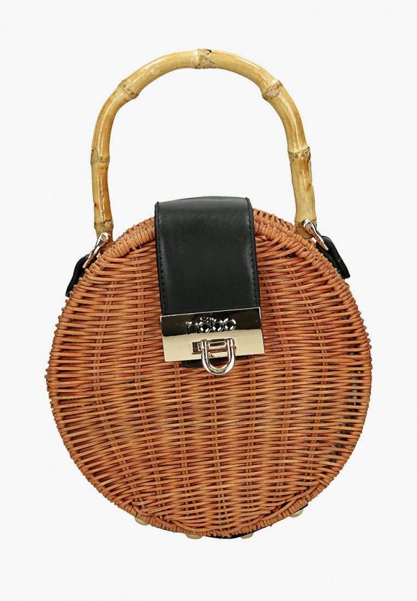 женская сумка nobo, коричневая