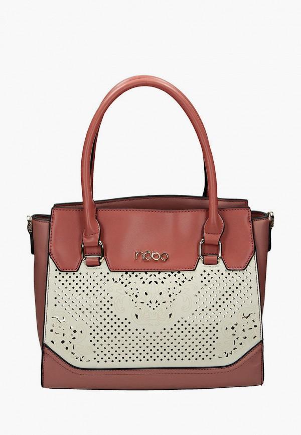 женская сумка nobo, розовая