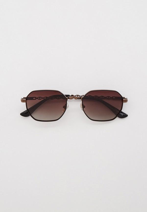 женские квадратные солнцезащитные очки ruxara, коричневые