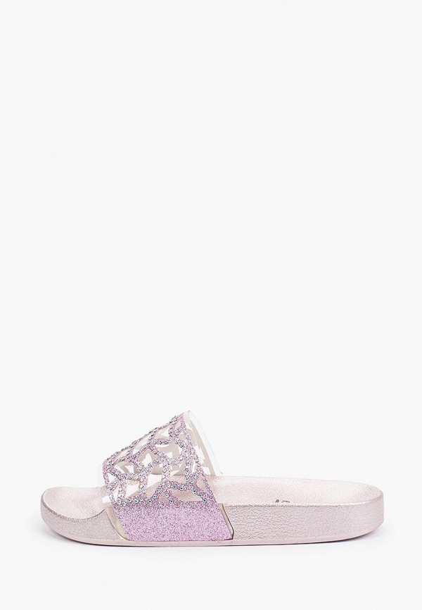женское сабо glamforever, фиолетовое