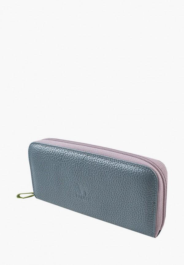 женский кошелёк mumi, голубой
