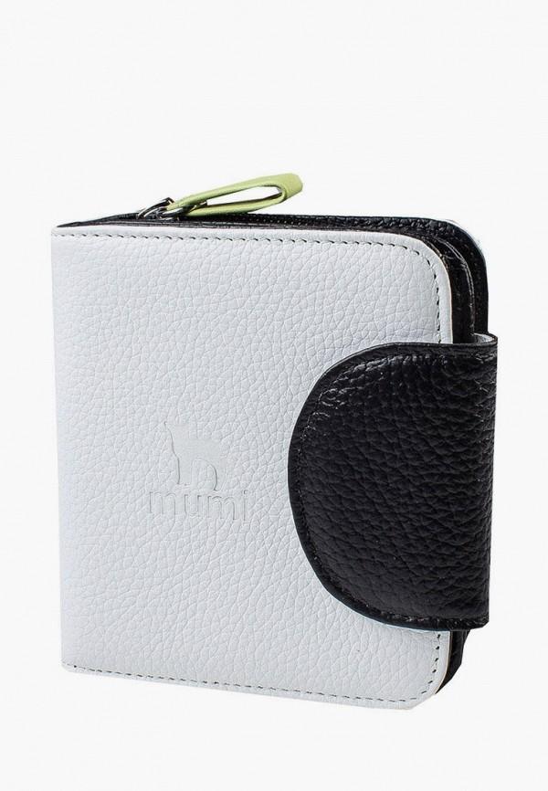 женский кошелёк mumi, белый