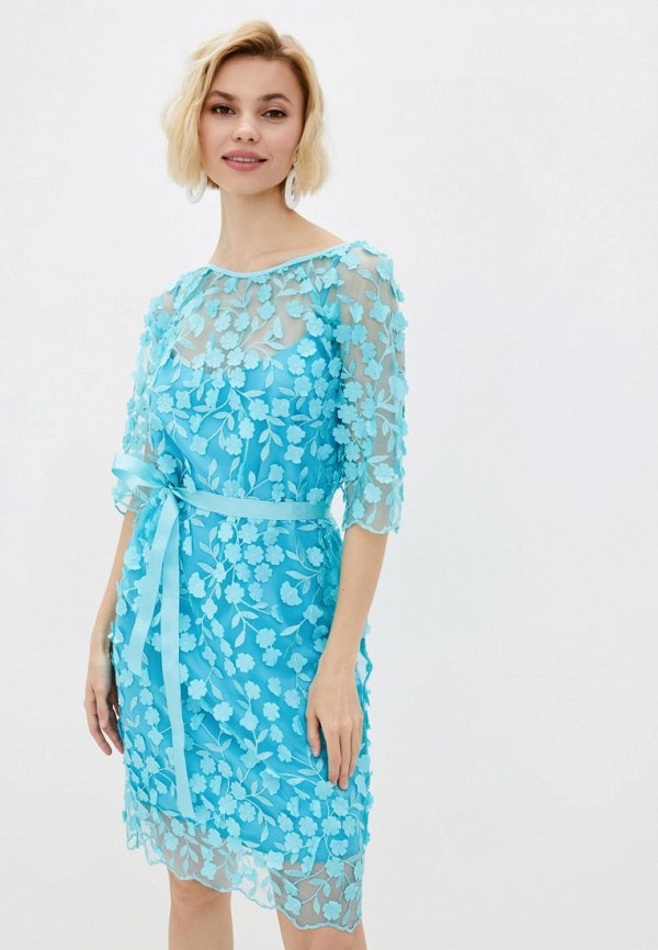 женская туника garne, голубая