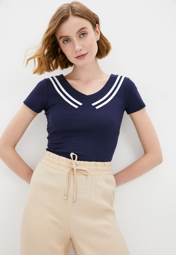 женская футболка savage, синяя