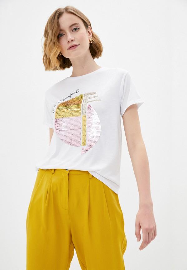 женская футболка savage, белая