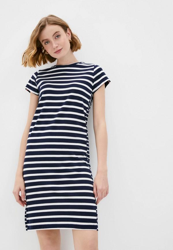женское платье-футболки savage, синее