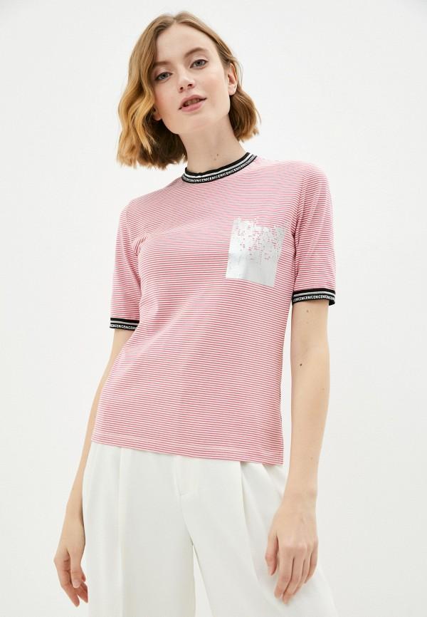 женская футболка savage, красная