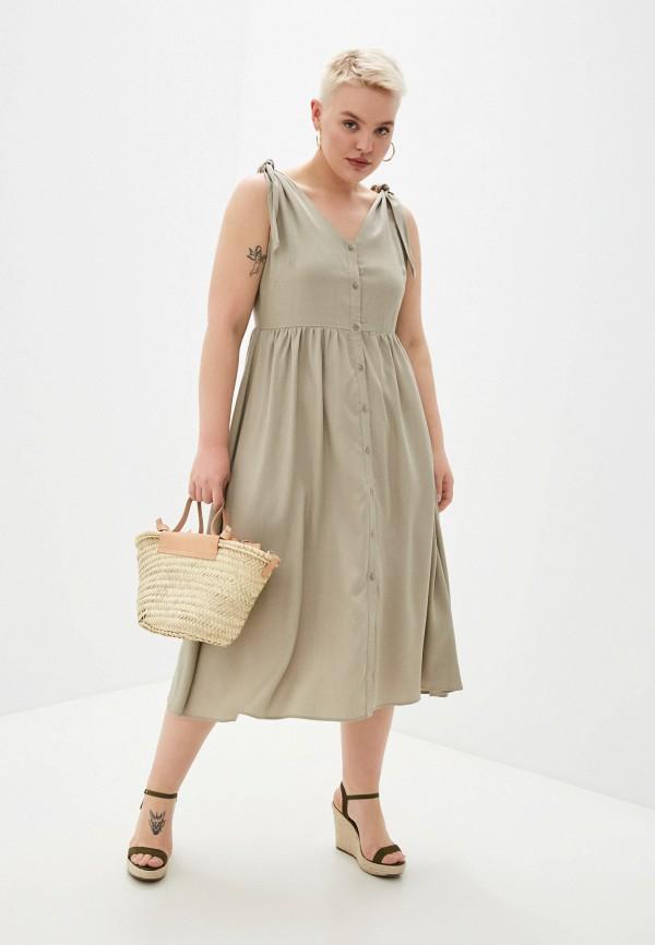 женское повседневные платье savage, серое