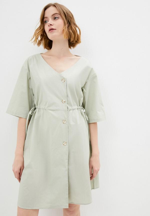 женское повседневные платье savage, бежевое