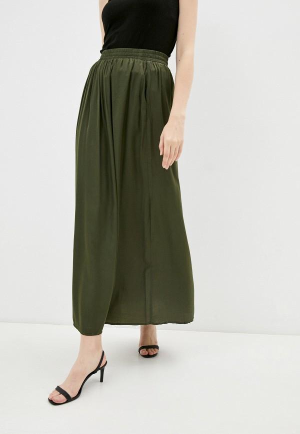 женская юбка-трапеции savage, хаки