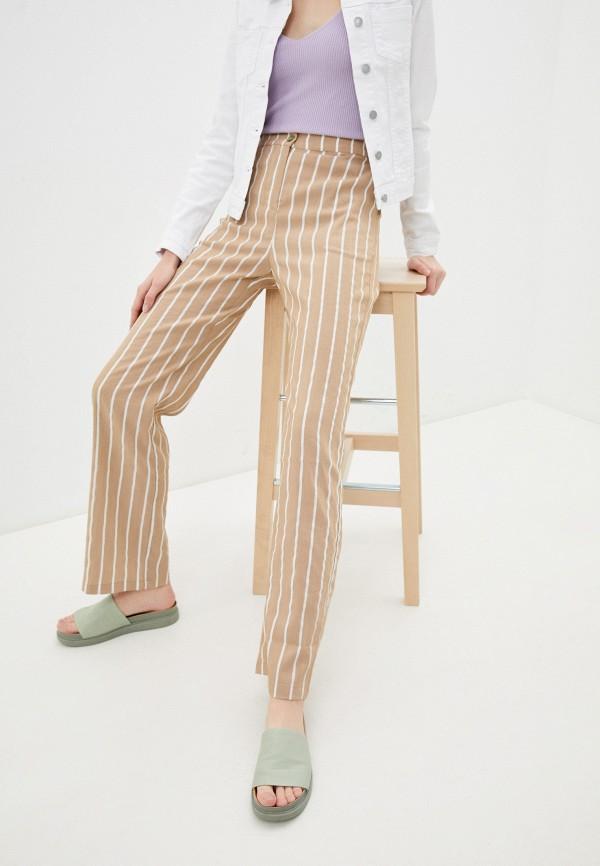 женские повседневные брюки savage, бежевые
