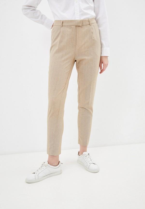 женские классические брюки savage, бежевые
