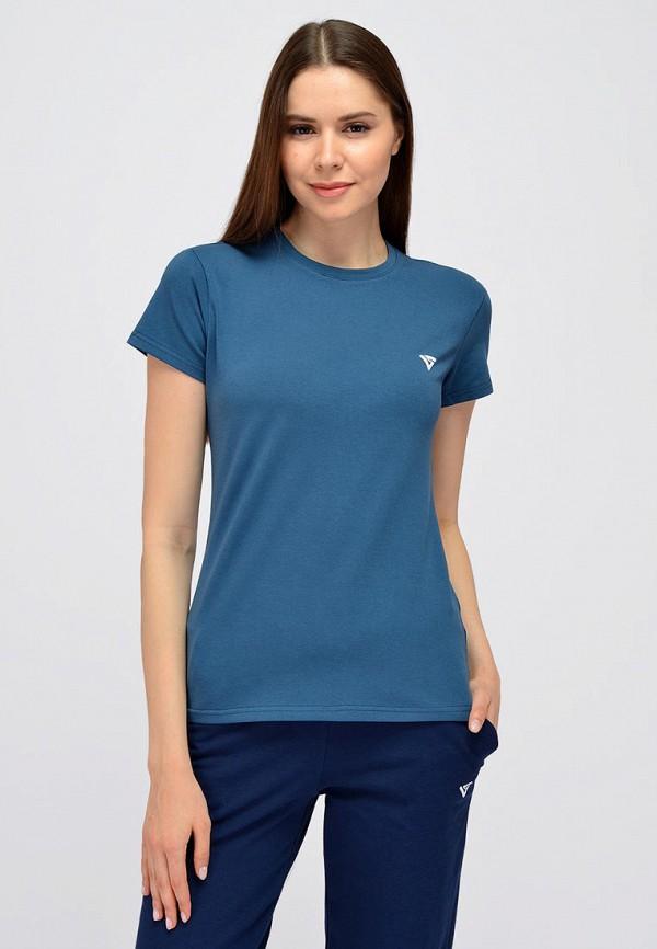 женская футболка viserdi, синяя