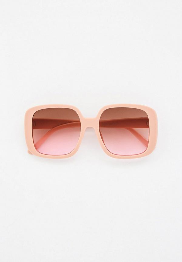 женские квадратные солнцезащитные очки bradex, бежевые