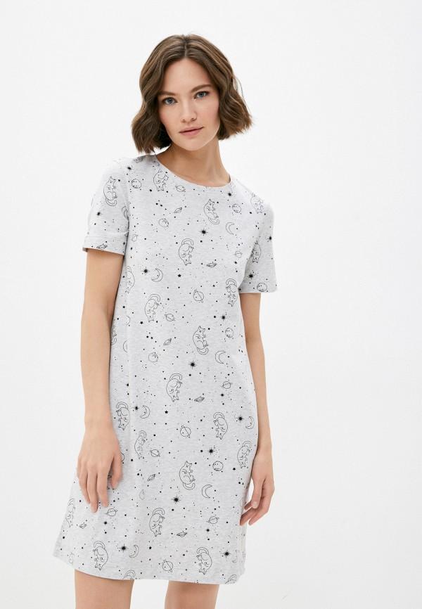 женское платье mark formelle, серое