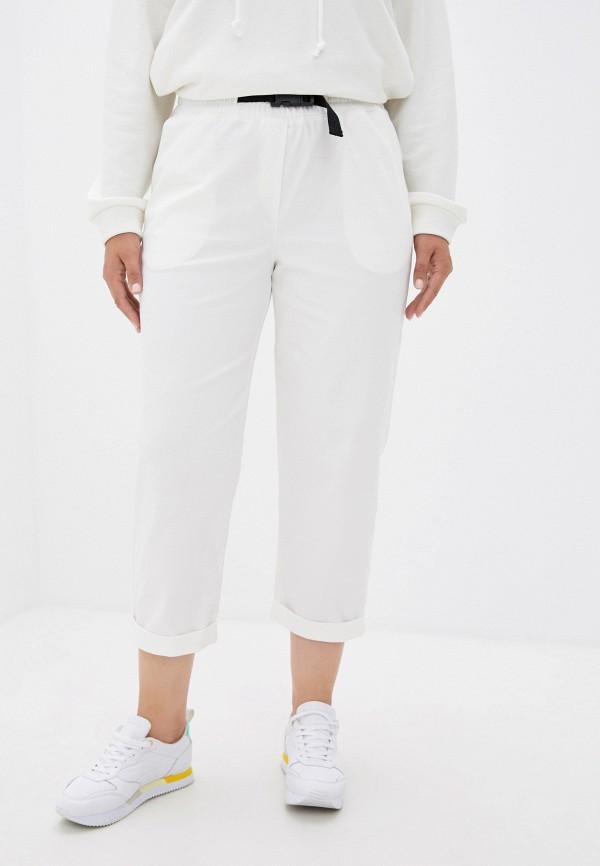 женские брюки джоггеры mark formelle, белые