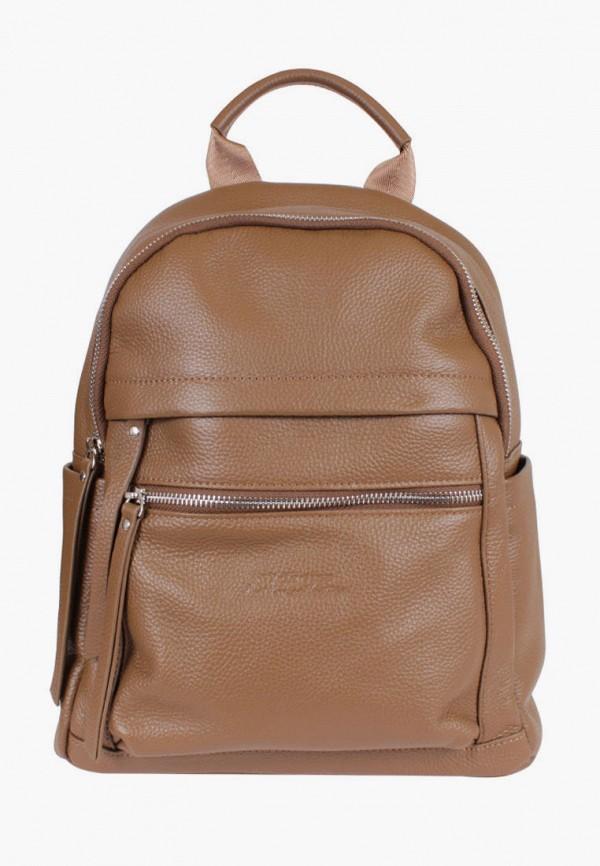 женский рюкзак de esse, коричневый