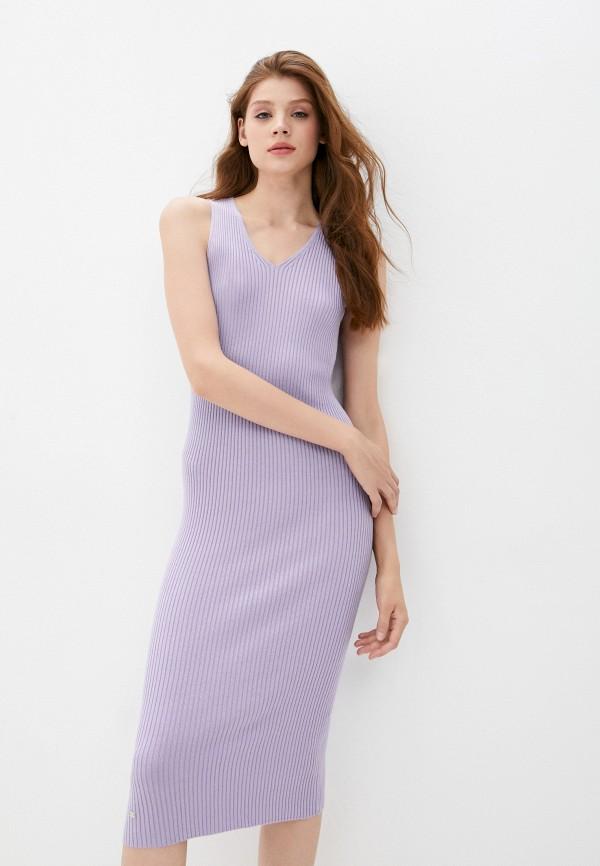 женское платье odalia, фиолетовое