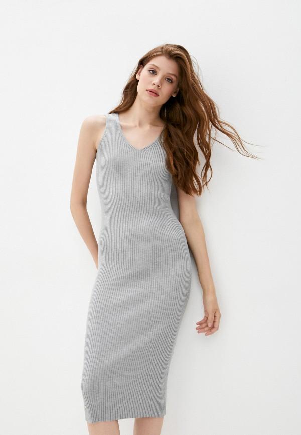 женское платье odalia, серое