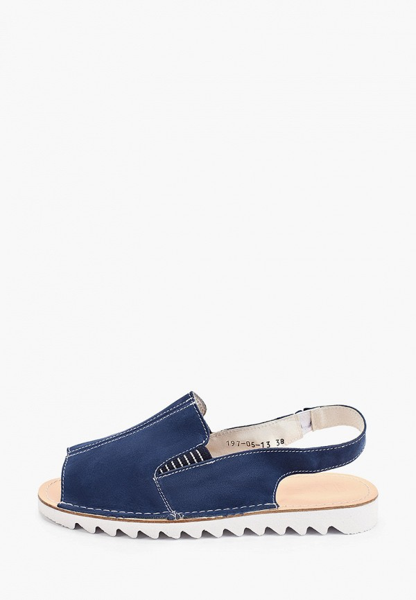женские сандалии makfly, синие